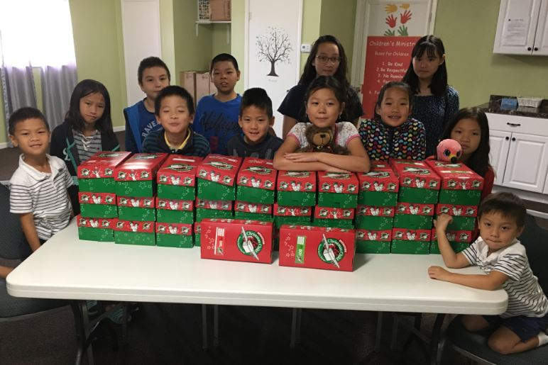 MCCMAC Picture 11-24-19 Operation Christmas Child Shoe Boxes