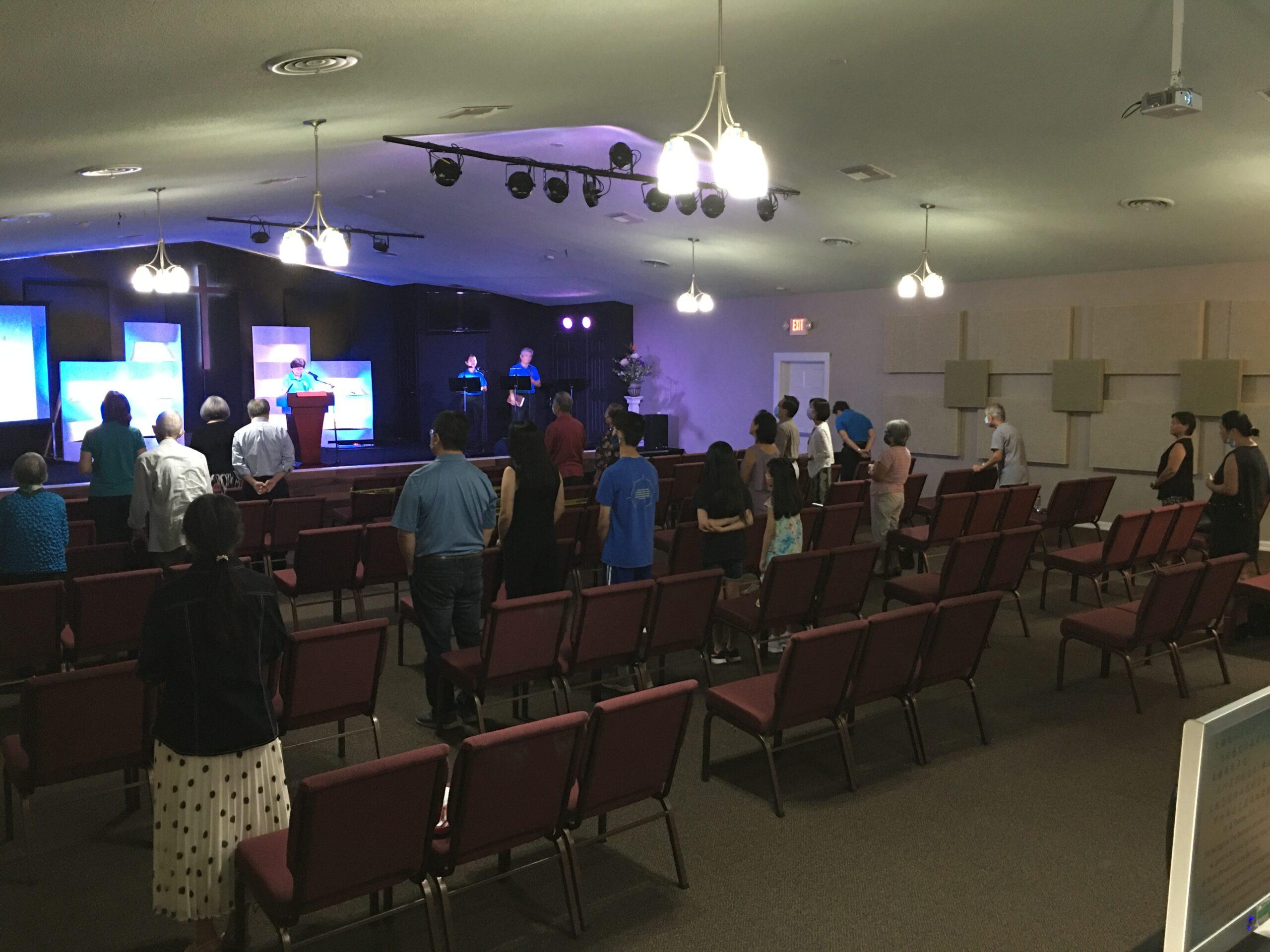 教會重新開放的注意事項